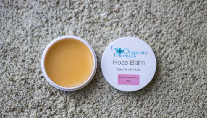 the organic pharmacy rose balm