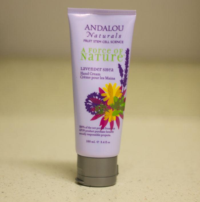 andalou naturals lavender shea hand cream