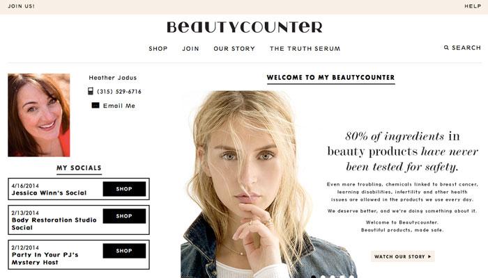 beautycounter by heather jadus