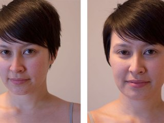 jane iredale purepressed base mineral foundation kimberlyloc before and after