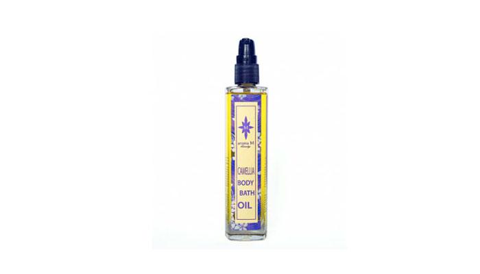 aroma m beauty camellia bath body oil