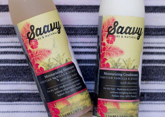 saavy naturals moisturizing shampoo and conditioner