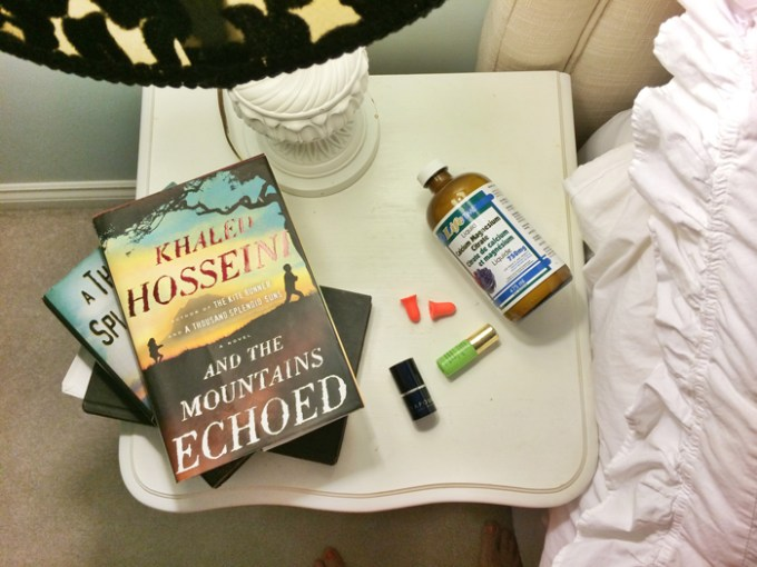 green beauty products that garcy fry of eco diva beauty keeps on her nightstand