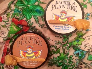 rachel's plan bee body polish