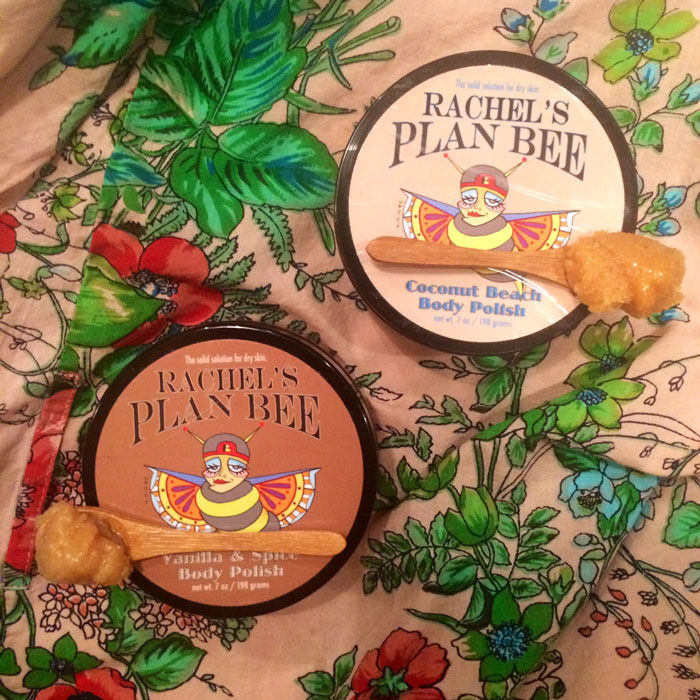 rachel's plan bee body polish