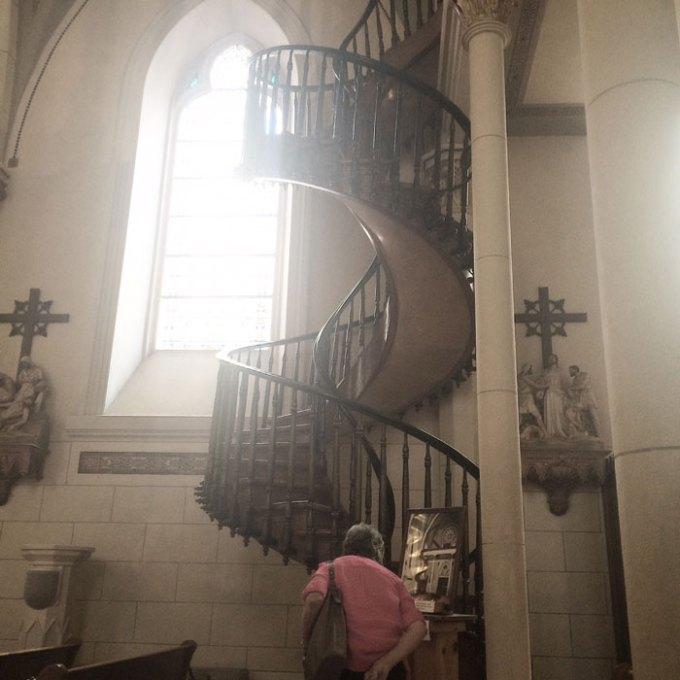 miraculous staircase loretto chapel santa fe