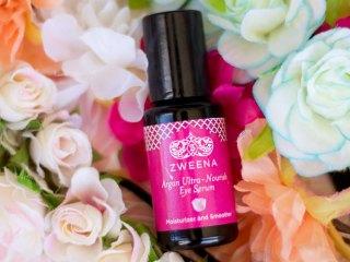zweena argan ultra-nourish eye serum