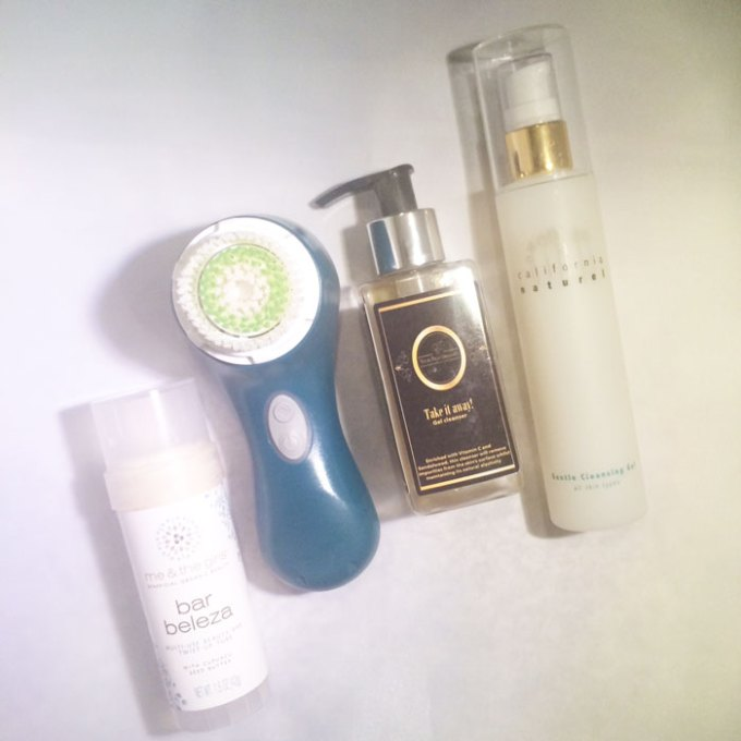 kimberlyloc's current beauty routine: evening cleansing and makeup removal
