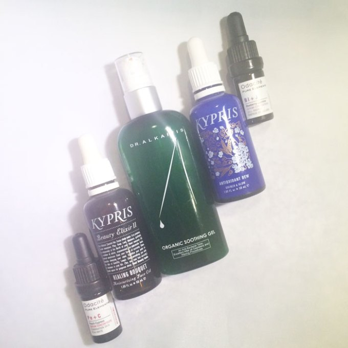 kimberlyloc's current beauty routine: daytime beauty oils
