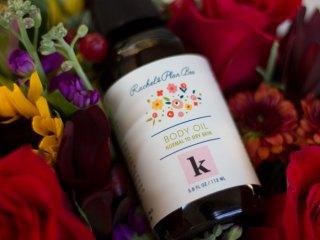 kimberlyloc x rachel's plan bee limited edition body oil