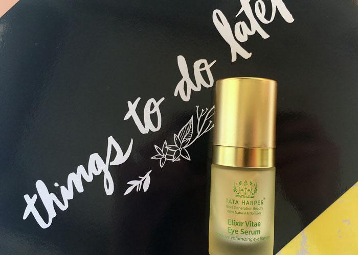 Tata Harper Elixir Vitae Eye Serum Review