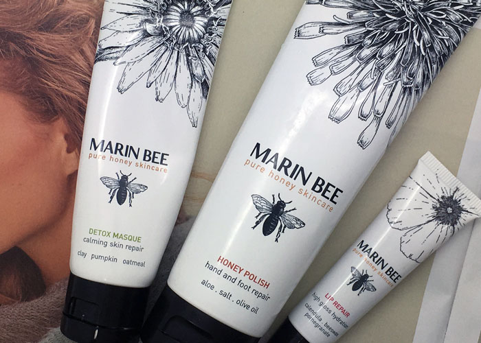 marin bee pure honey skincare