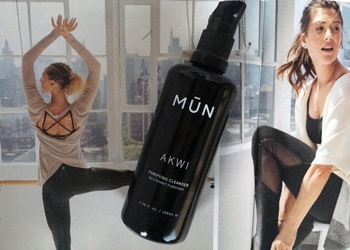 mun akwi purifying cleanser