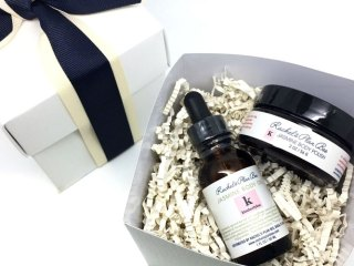 kimberlyloc x rachel's plan bee jasmine body oil gift set