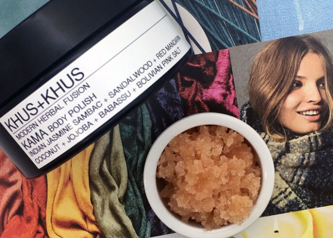 khus + khus kama body polish