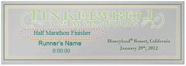 2012tinkerrbellhalfmarathonmedalplaque