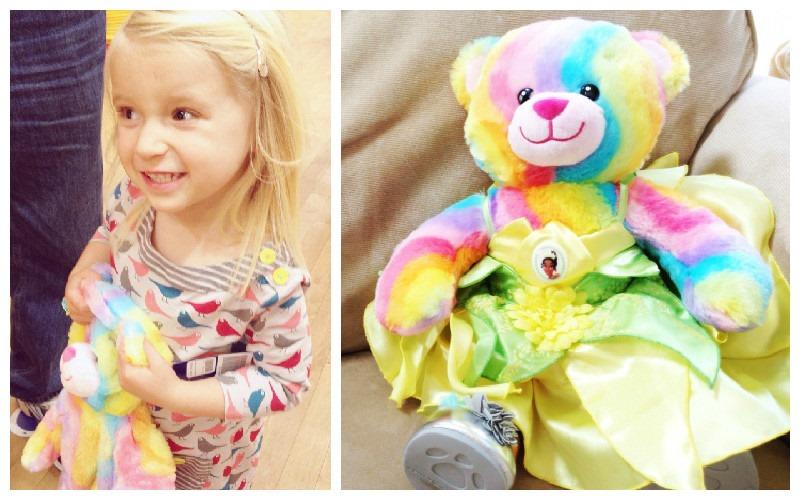 BuildaBear_Age_4_Stuffed_Rainbow_Bear