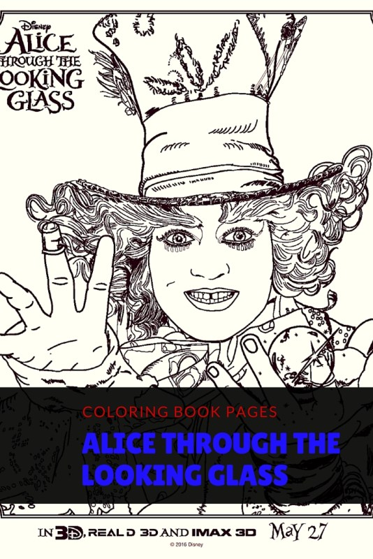 AliceThroughTheLookingGlass_Coloring_Pages_Disney