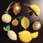 Nine wonderful years of lemon ornaments weddingbee onceabeealwaysabee 2016beeornamentexchange