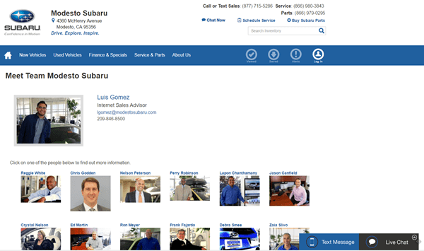 subaru_internet_sales_manager