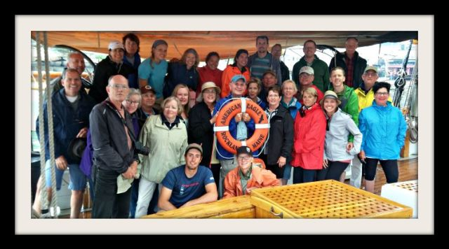 Sailing Guests American Eagle 7-31-15