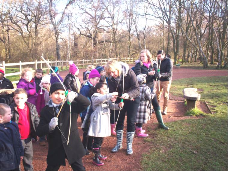 Year 2  trip to Sherwood Forest