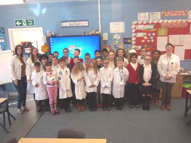As part of our science week celebration children (and staff) came to school dressed as their interpretation of a scientist.