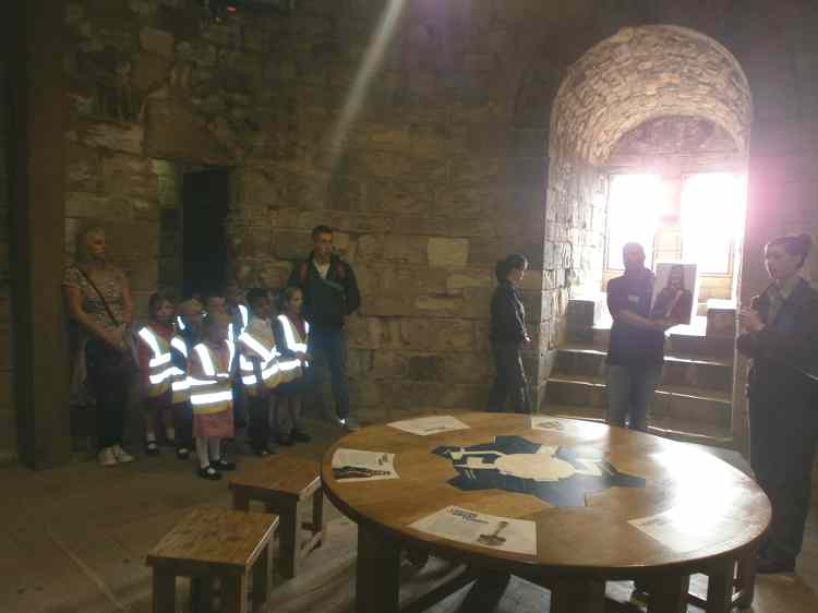 As part of our 'Towers, Tunnels and Turrets' topic, Class 2 visited Conisbrough Castle.
