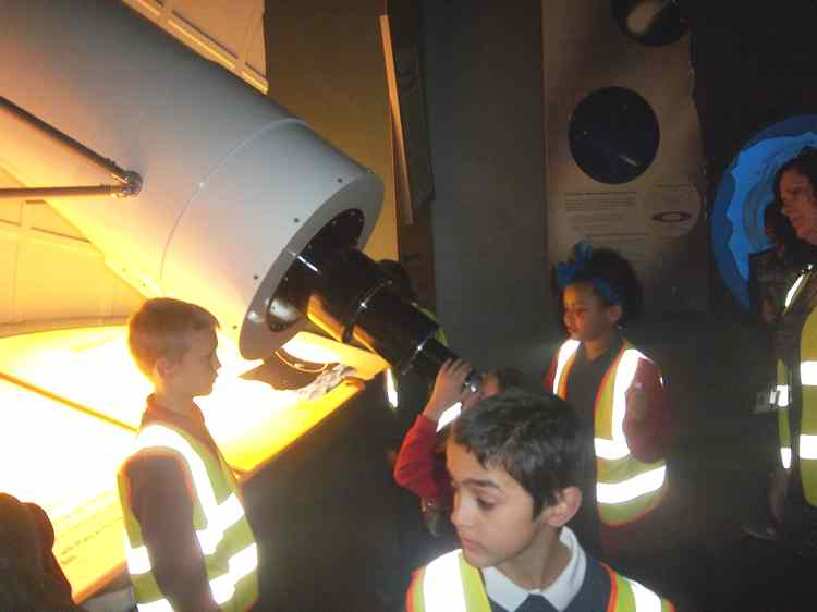 National Space Centre Year 5 Trip