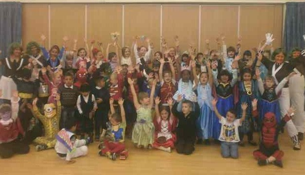 ​Class One and Class Two Book Week