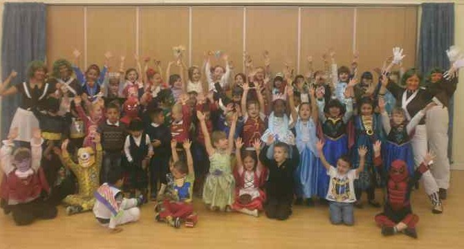 Class One and Class Two Book Week