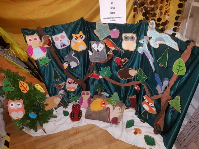 Enchanted Forest Arts and Craft work