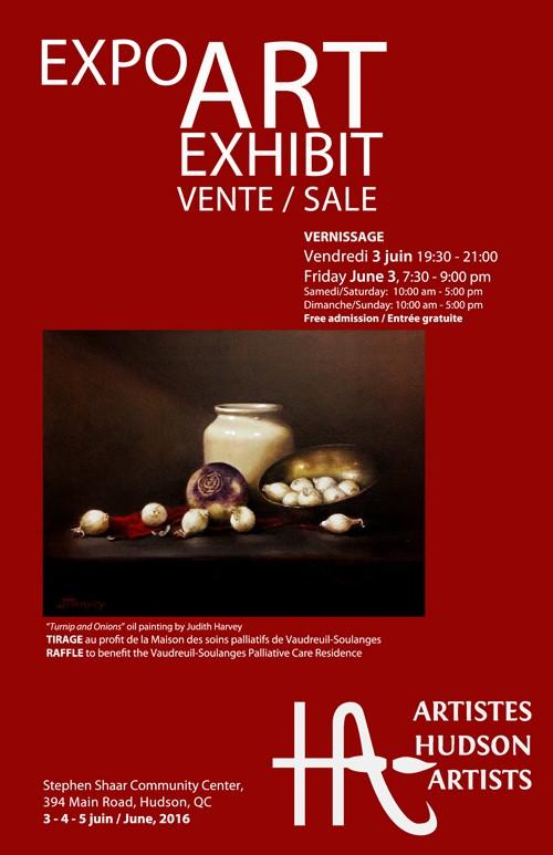 AHA art sale-June3-5,2016