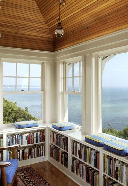 """Perfect for a cottage library on the Thousand Islands. """"How marvelous books are, crossing worlds and centuries, defeating ignorance and, finally, cruel time itself."""" -Gore Vidal"""