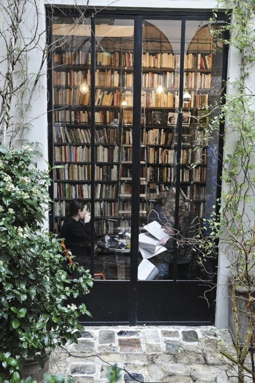 """""""I have always imagined that Paradise will be a kind of library."""" -Jorge Luis Borges"""