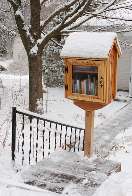 """These little free libraries are popping up everywhere in Toronto. """"The very existence of libraries affords the best evidence that we may yet have hope for the future of man"""" -T.S. Eliot"""