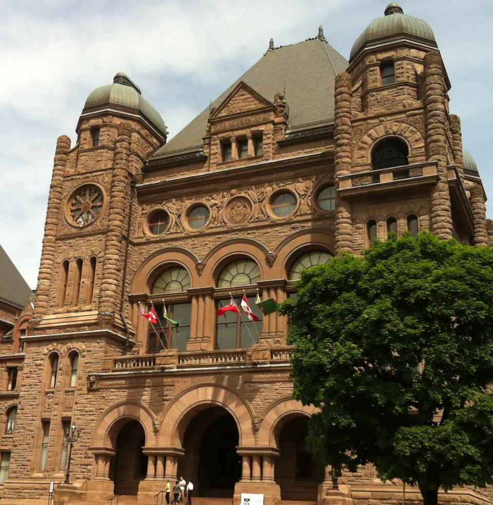 Queen's Park, once home to an insane asylum, is reportedly haunted by many spirits, including a white lady wandering the halls, a soldier and a hanging lady.