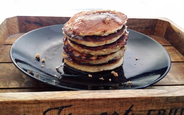 Healthy Banana Egg Pancakes