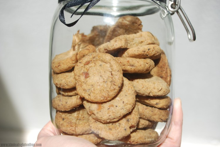 Homemade sardine dog treats - gluten free dog cookies - www.kimieatsglutenfree.com
