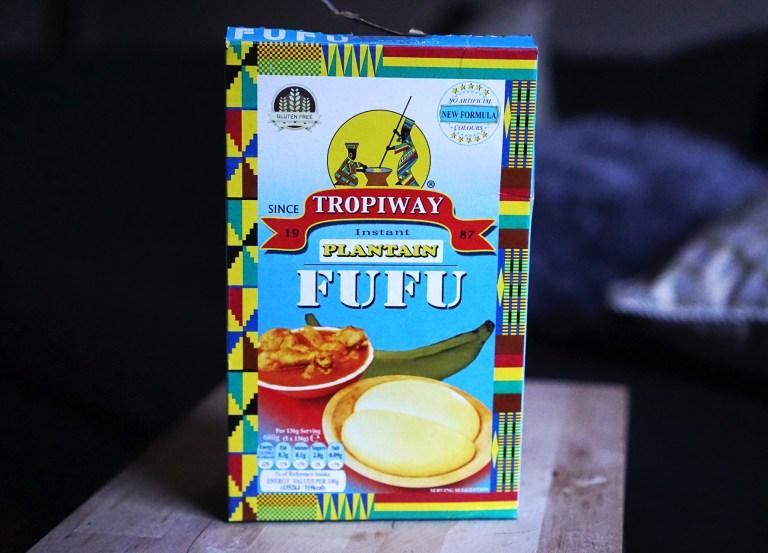 Gluten free, grain free, plantain and cassava Tropiway fufu flour