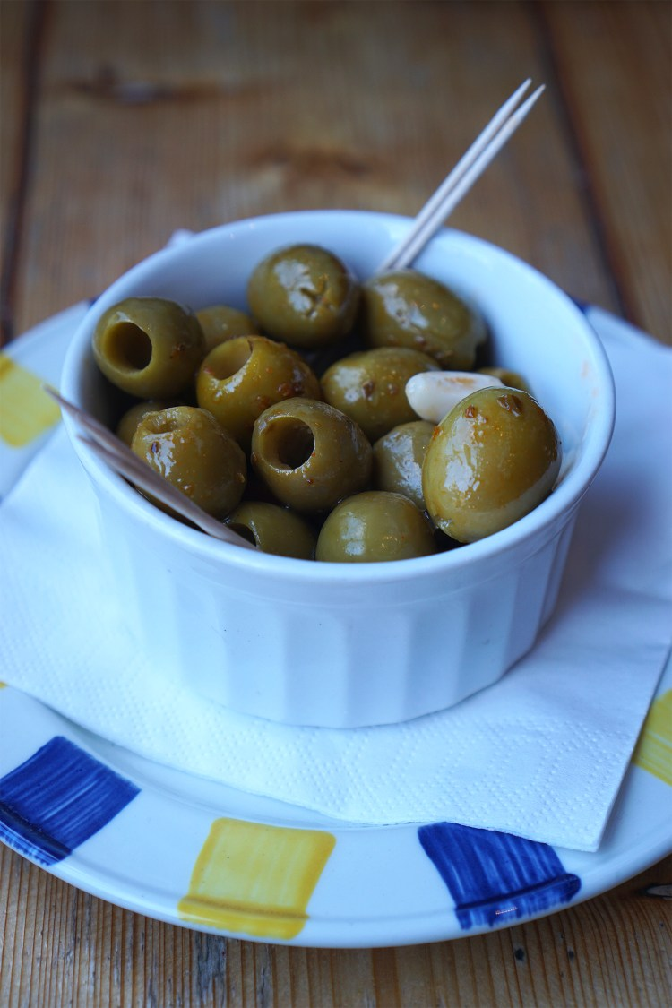 Olives from Stingray in Tufnell Park, North London - Stingray gluten free London