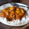 Cuban style prawn and mango stew | healthy gluten free recipe