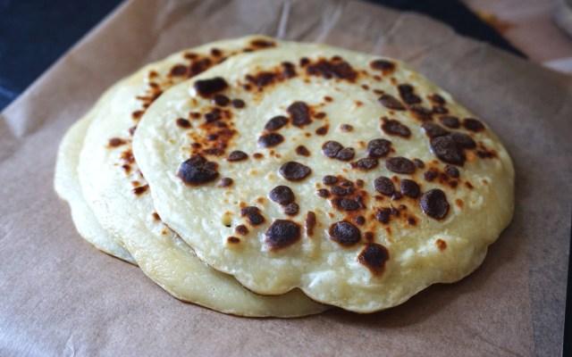 Plantain + Cassava Fufu Pancakes {gluten free, grain free}