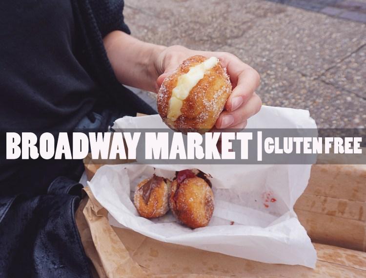 Gluten free doughnuts from Floris Foods   Floris Bakery   Gluten free Broadway Market guide   Hackney, London