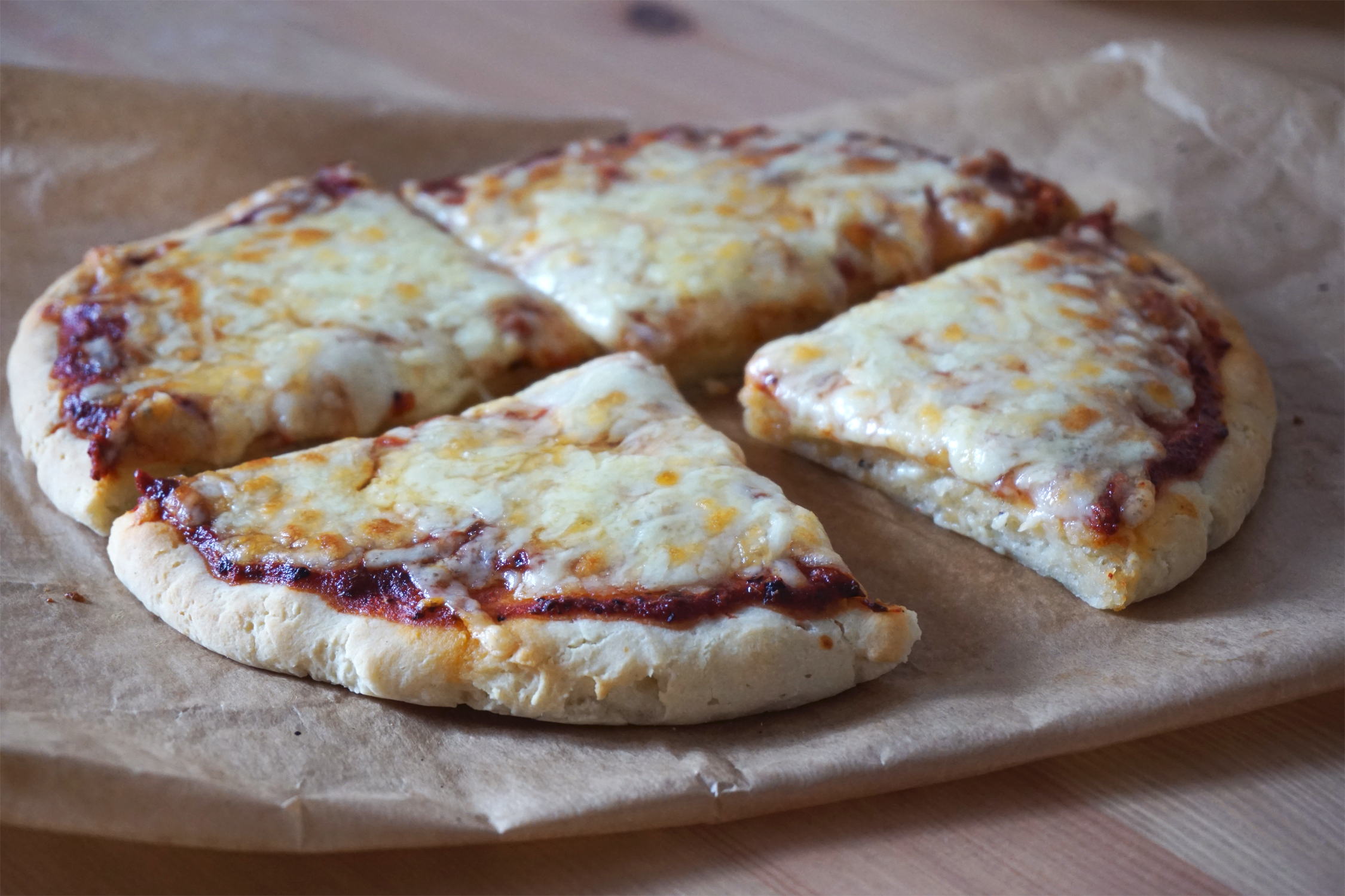 Gluten + Dairy Free Yoghurt Pizza Dough {With & Without ...