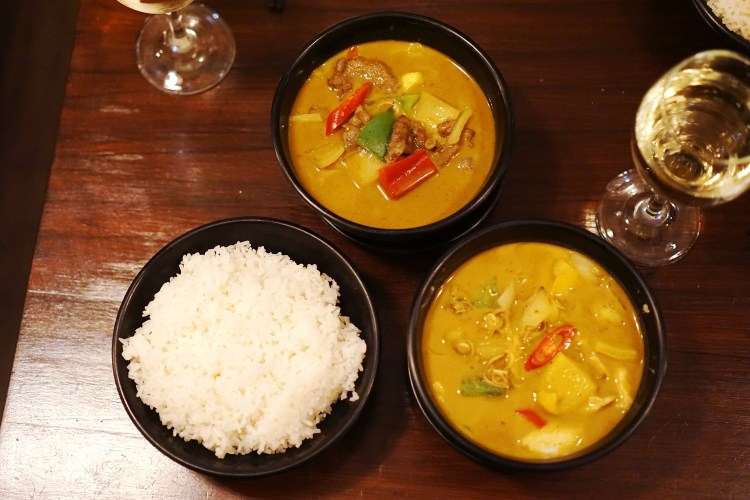 Gluten free Vietnamese curries from Oa Com Tam in Holloway | London | Islington | Gluten free restaurants