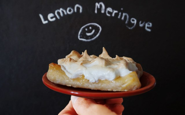 Gluten Free Lemon Meringue Pastry Slices {With Jus-Rol}