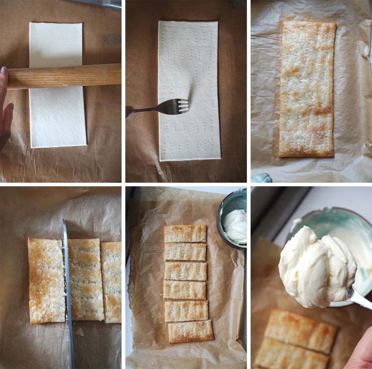 How to prepare and bake gluten free puff pastry to make homemade French mille feuille