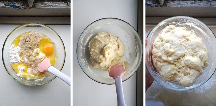 Preparing and proofing cinnamon bun dough