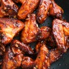 Baked Korean chicken wings with gluten free gochujang glaze (O'Food)